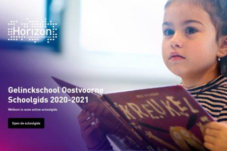 Screenshot schoolgids GS oostvoorne