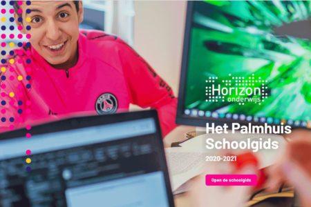 Screenshot schoolgids palmhuis nieuw