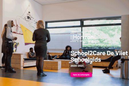 Screenshot schoolgids school2care de vliet nieuw