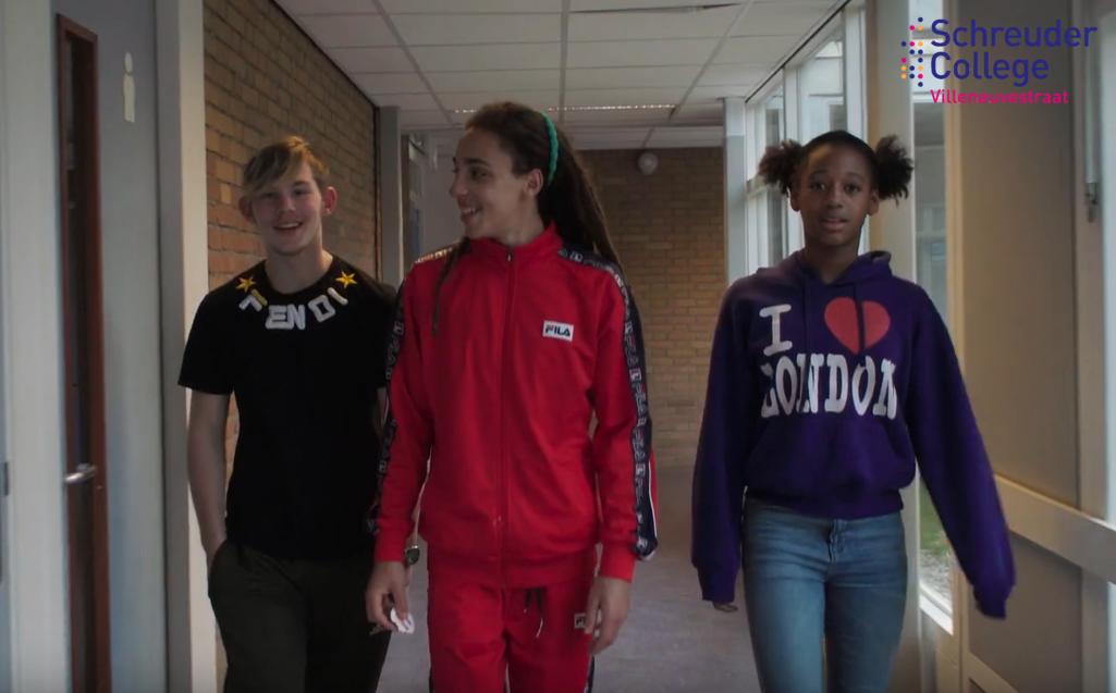 Schreuder College De Villeneuvestraat: The future is ...