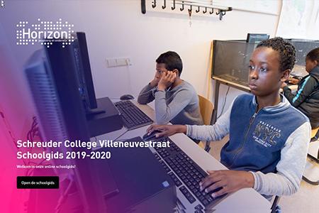 Schreuder College Villeneuvestraat Cover web