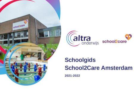 AC S2 C Amsterdam schoolgids 2021 2022 voorkant