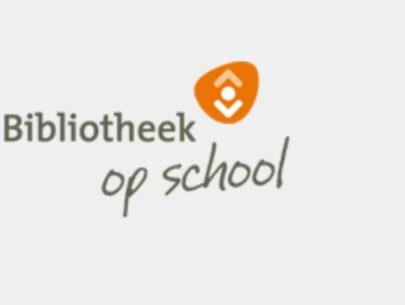 Bibliotheek op school logo