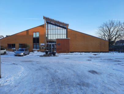 Gelinckschool Spijkenisse in de sneeuw