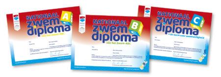 Diploma reeks liggend